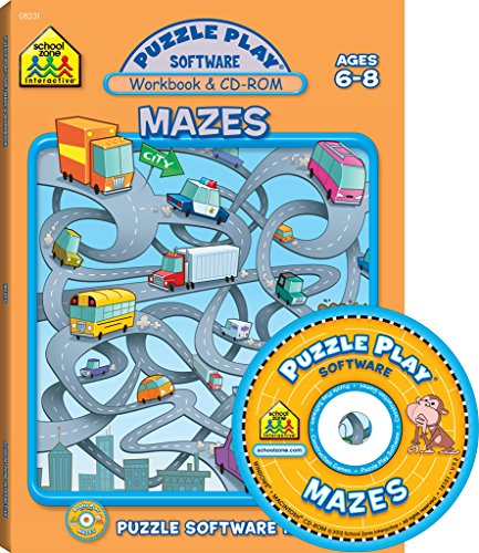 - Mazes: Puzzle Play Software, Ages 6-8