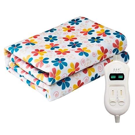 ZXY Calienta camas eléctrico Manta eléctrica de control ...
