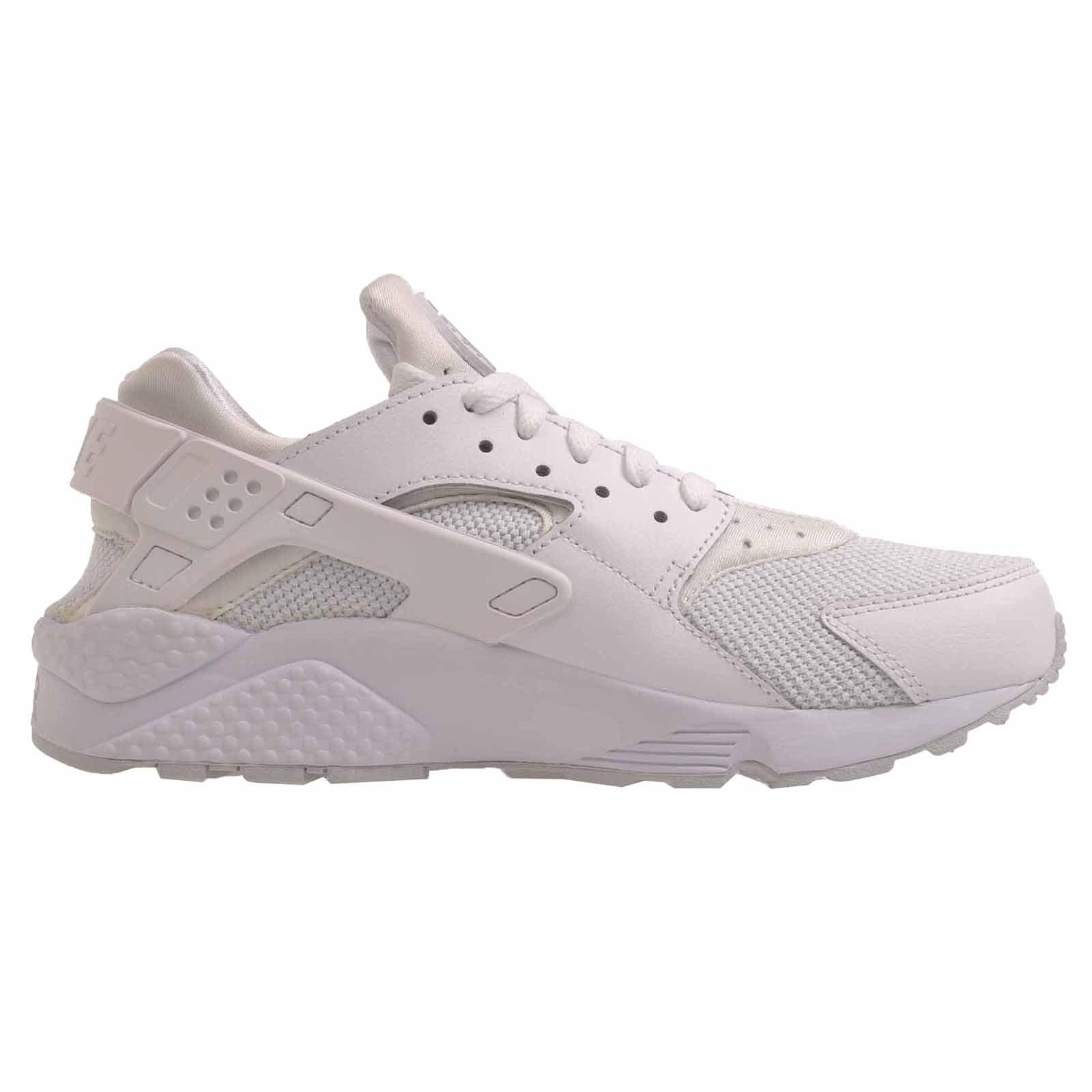 nike air huarache mens running trainers 318429 sneakers shoes (US 13, White Pure Platinum White 109)