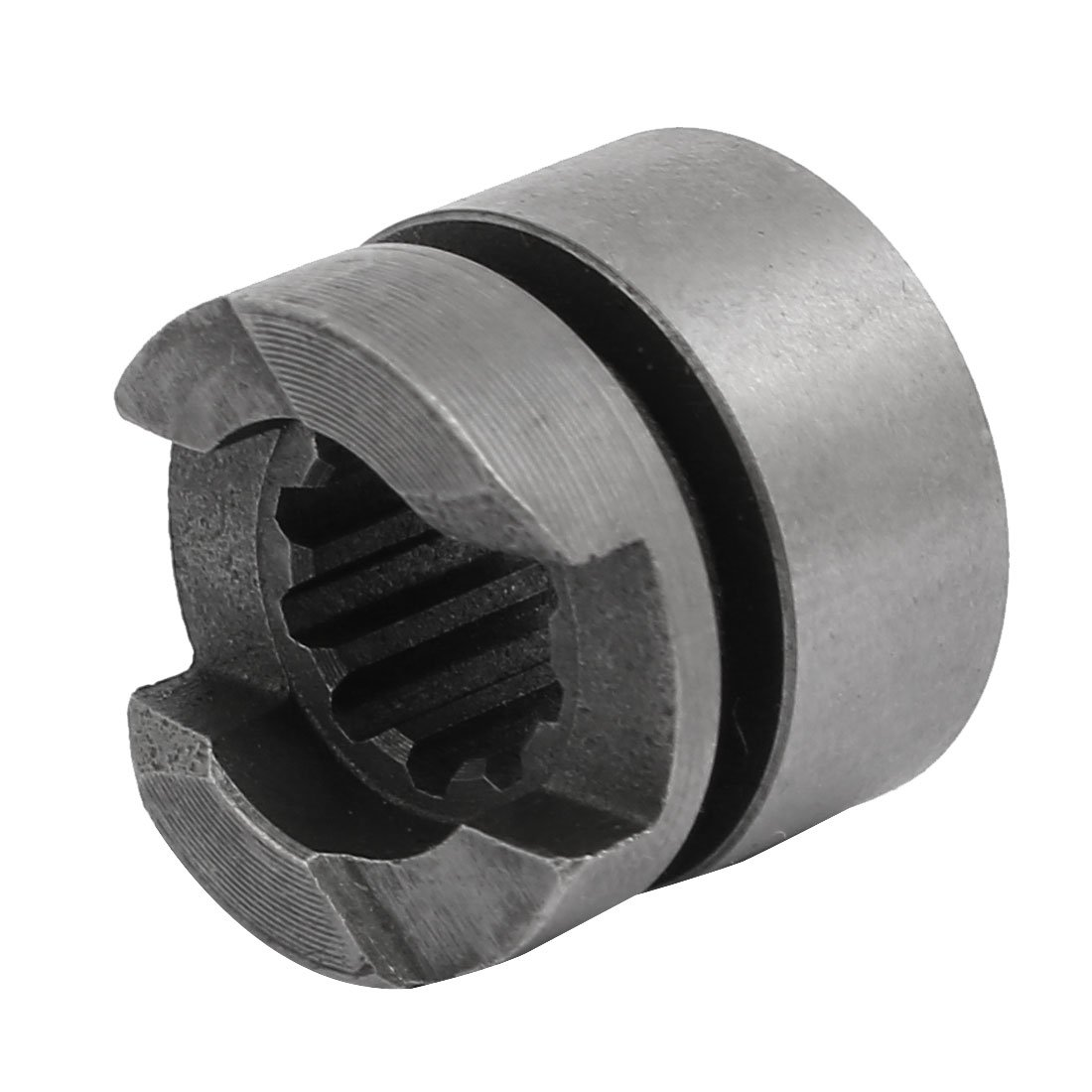 uxcell 22mmx19mm Metal 10 Teeth Clutch Gray for Makita HR2470 Electric Hammer