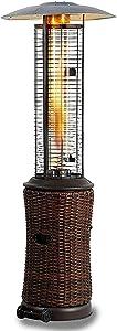 ?????? Outdoor Heating Standup Patio Heater Foldingf Save Space Propane Radiant Portable Heater Outdoor Patio Heater Carbon Infrared Heater heaters for Patio