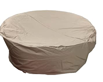 All Weather 65u0026quot;x 31.5u0026quot;H In Diameter Outdoor Round Daybed Patio  Furniture Cover