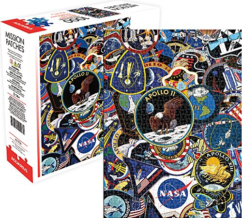 Aquarius Nasa Mission Patches Jigsaw Puzzle (1000 Piece)