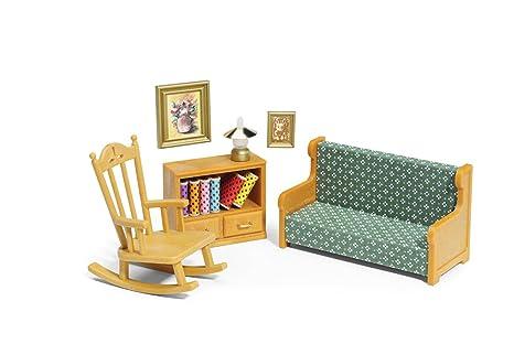 Calico Critters Living Room.Amazon Com Calico Critters Living Room Set Toys Games
