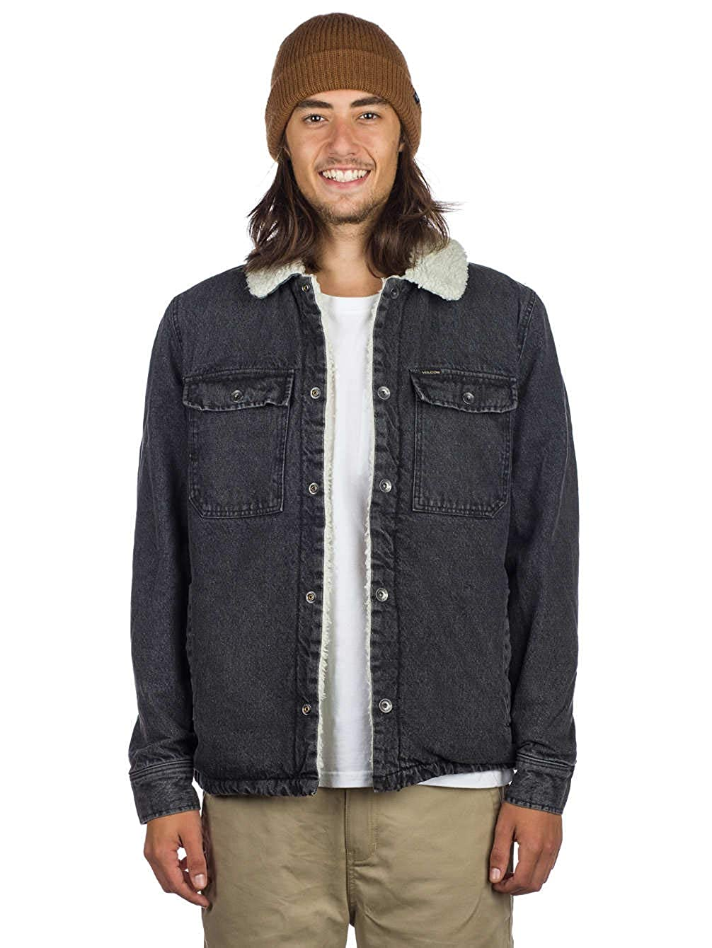 Volcom Mens Keaton Mid Length Jacket