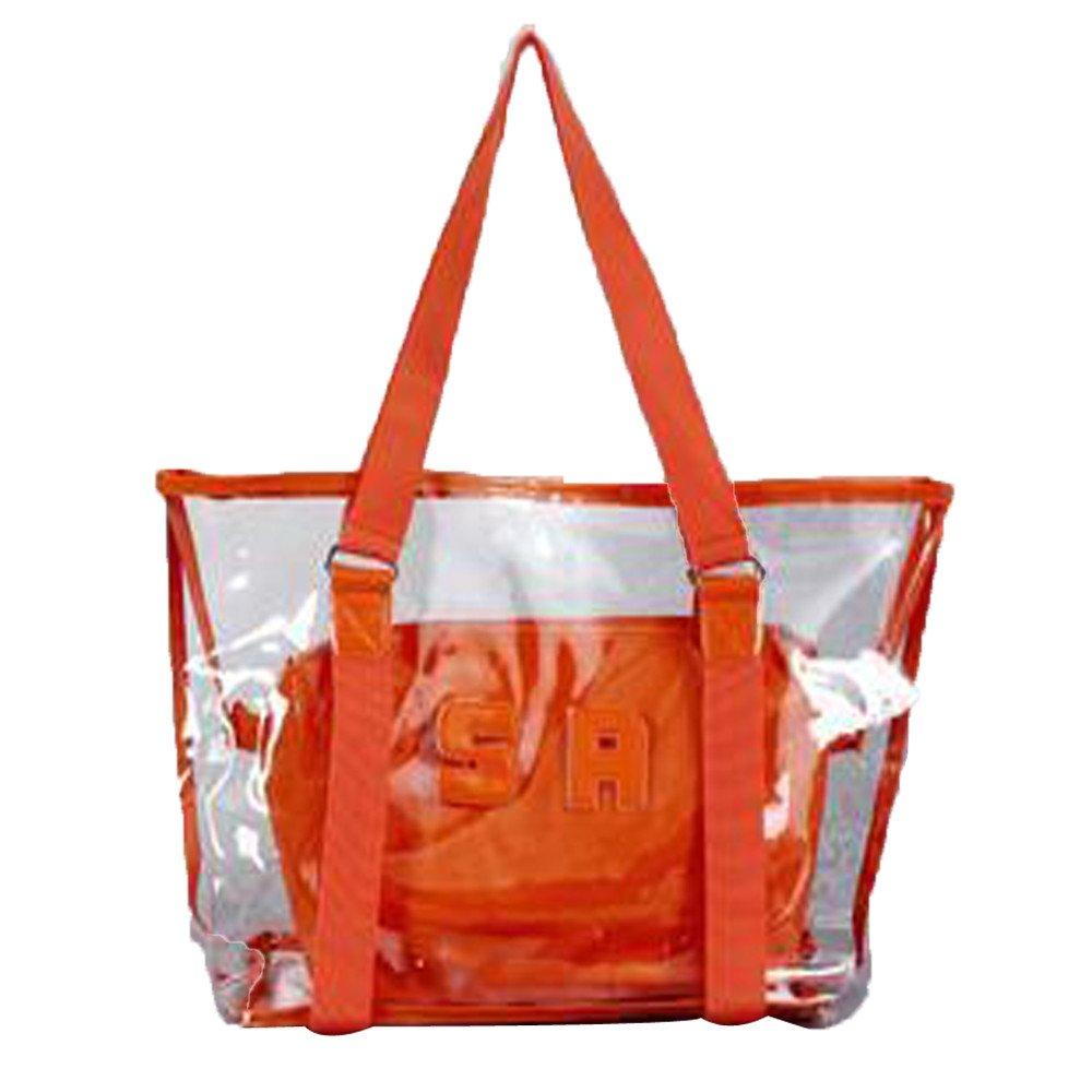 Fashion Women Clear Beach Bag Waterproof Bag Shoulder Bag Handbag Messenger Bag LIKESIDE
