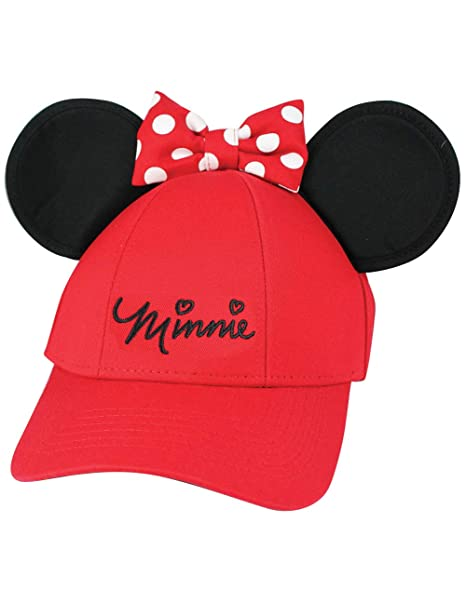 Amazon.com  Disney Minnie Mouse Girls Youth Ears Cap 9a03c6921a43