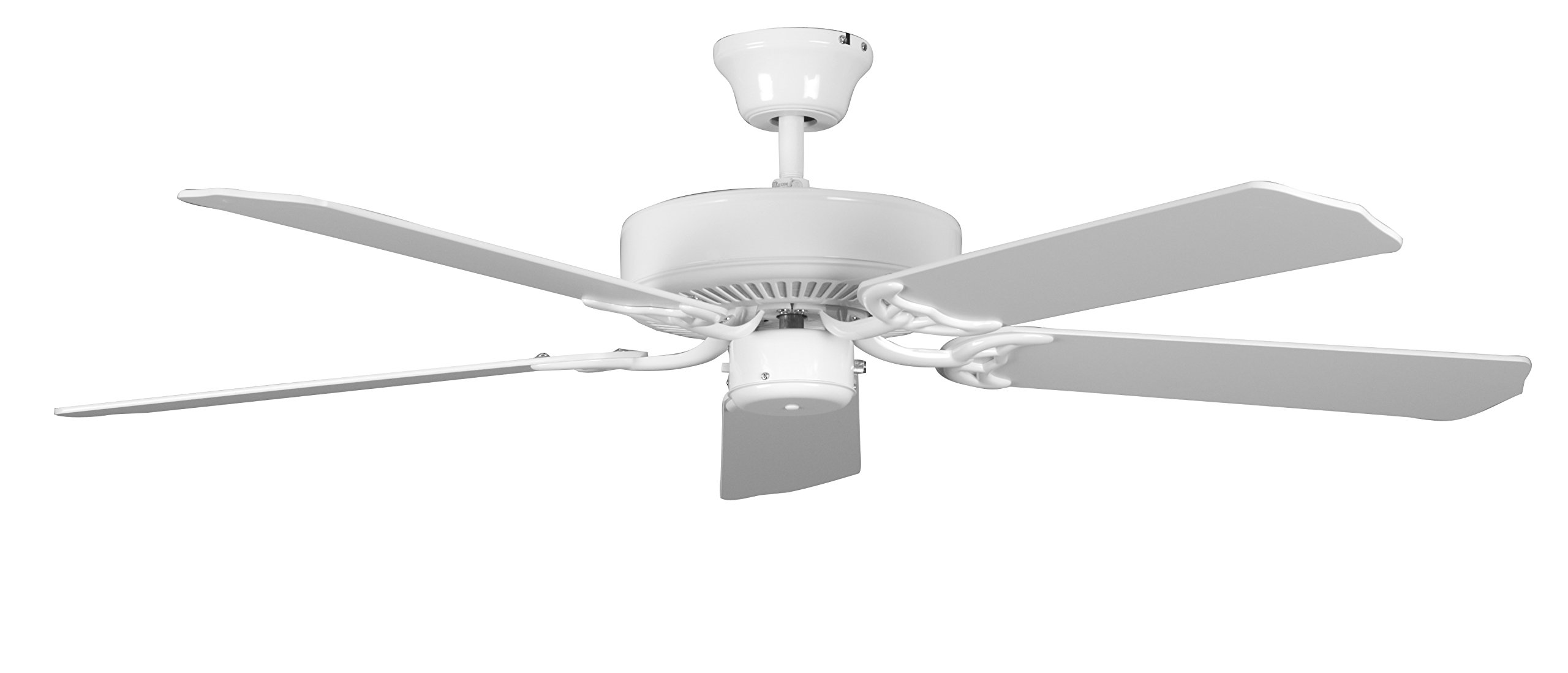 Concord 52HE5WH Ceiling Fans, White Finish