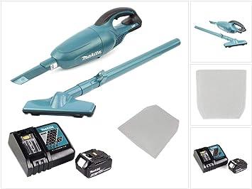 Makita DCL 180 RM1 - Aspiradora (18 V, batería de ion de litio, 10 ...
