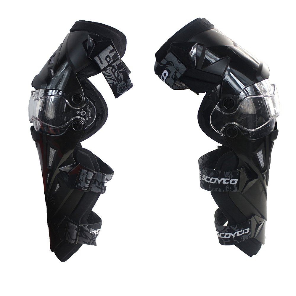 Black,L SCOYCO Screen Sensitive Driving Gloves,Waterproof,Cowhide,Thermal Lining,Carbon Fiber Shell Shockproof,Windproof,for Touring Driving