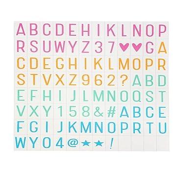 Letras para cartel luminoso de hunpta, color B: Amazon.es ...