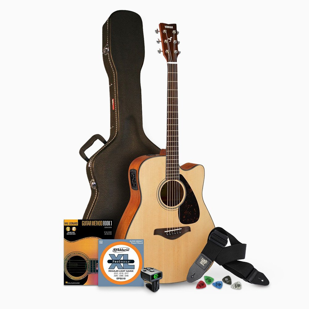Free Download Acoustic Electric Guitar Wiring Diagram Library E Schematics Amazoncom Yamaha Fgx800c Solid Top Cutaway Musical Instruments