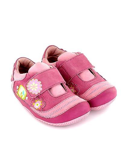 17b2d22e2ed Zapato de niña preandante en Piel Rosa Lea Lelo: Amazon.es: Zapatos y  complementos