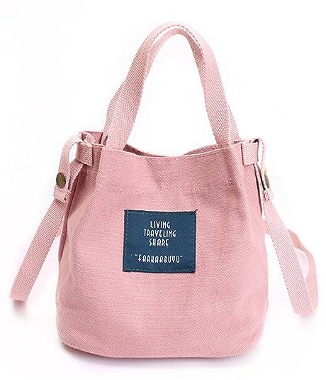 Blue Vessel - Cartera de mano con asa de poliuretano para mujer rosa Rosa: Amazon.es: Zapatos y complementos