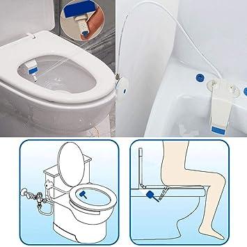 Toilette Sitz Anhang Badezimmer Wasserspray Nicht Elektrisches Bidet Mechan W5Y0