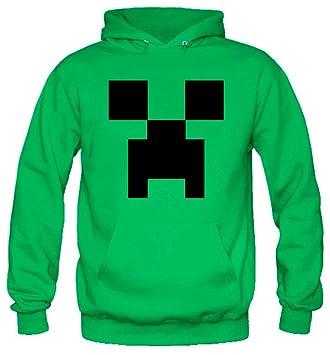 Sudadera Minecraft soy un Creeper (Con capucha) (M)(todas las tallas disponibles): Amazon.es: Juguetes y juegos