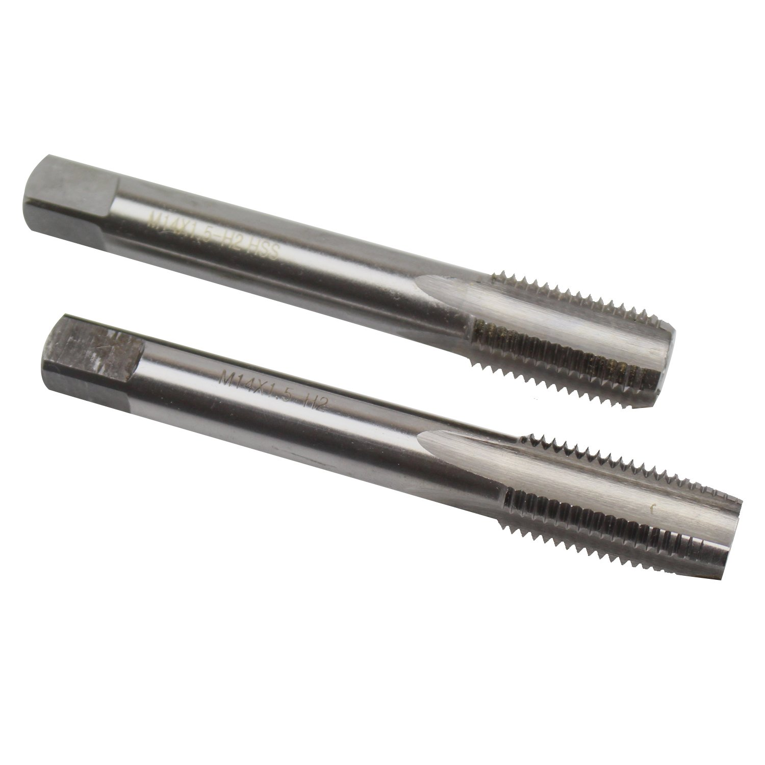 14mm X 1.5 Taper and Plug Tap M14 X 1.5mm Pitch by KMIAN TOOLS