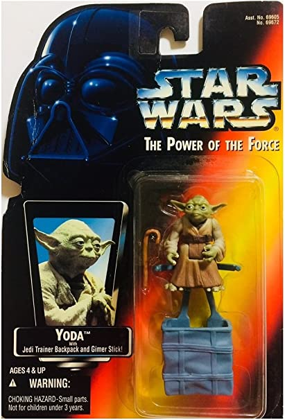 "Star Wars Power of the Force Yoda POTF 3.75/"""