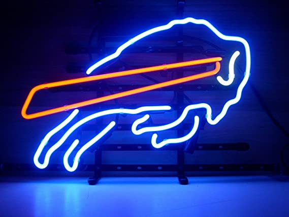 """Urby® 24""""X20"""" Larger Sport Teams Bb Bull Beer Bar Neon Sign 3 Year Warranty Best Choice! by Urby"""