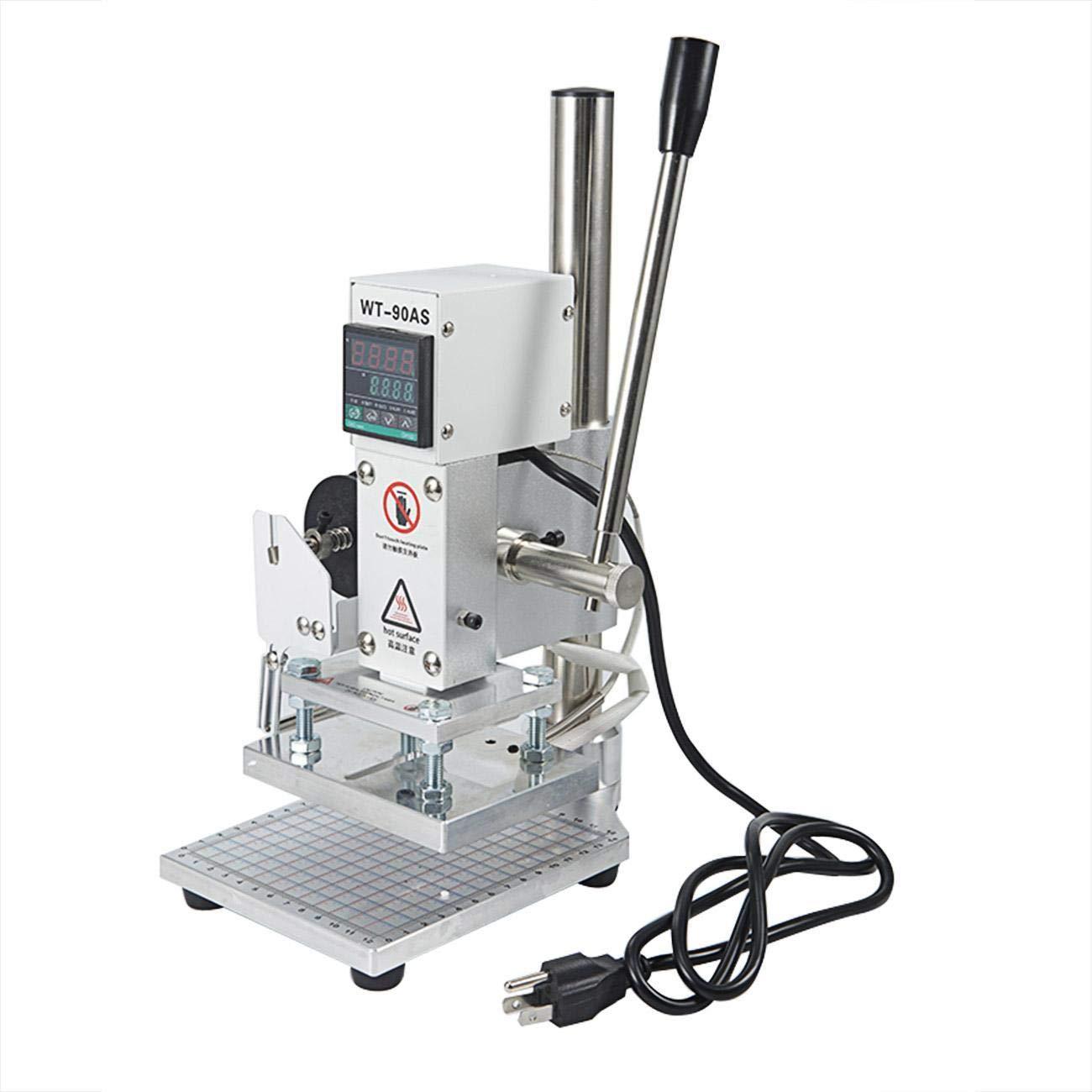 BEAMNOVA Hot Foil Stamping Machine 10 x 13 cm Manual Logo Printer Stamper Bronzing Machine Markers