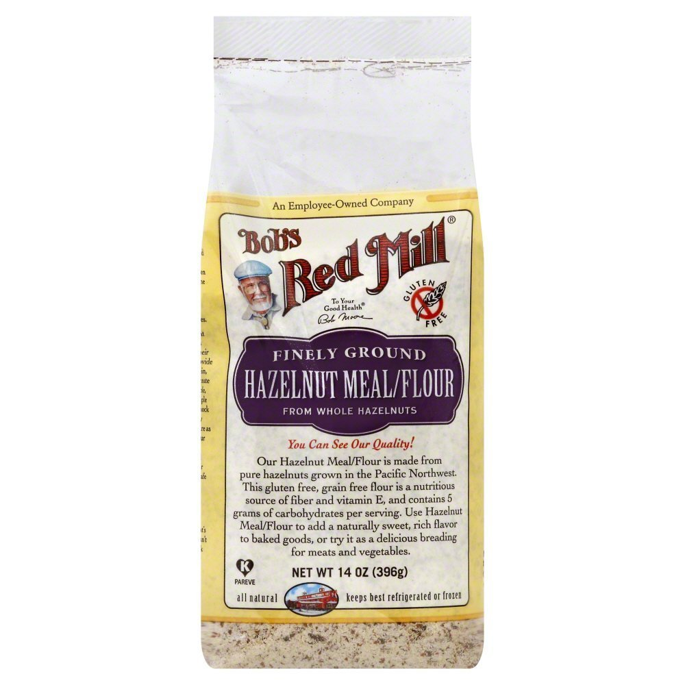 Bobs Red Mill Flour/Meal, Hazelnut 14.0 OZ(Pack of 12)