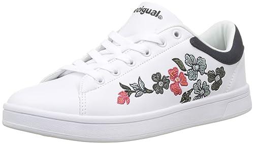 wholesale dealer db7e3 eb3d2 Desigual Shoes_Retro Court Geopatch, Scarpe da Ginnastica ...