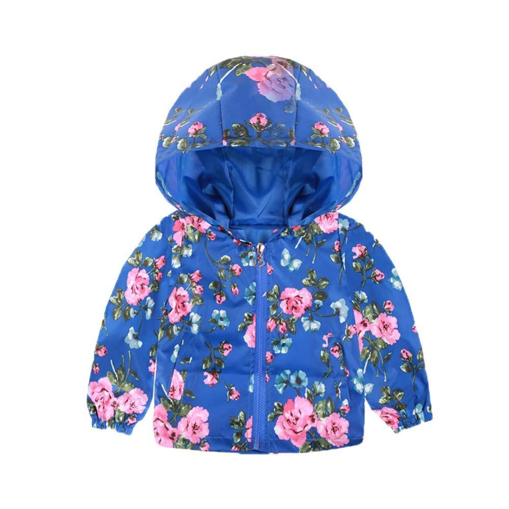 Manteau à Capuchon bébé Dessin animé, Veste imprimée BZLine pour Tout-Petit Mode et Mignon Doudoune