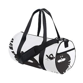 Kawaii Avec Papillon Chat Personnalisé Yoga Mignon Léger Gym E29IHD