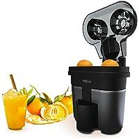 IKOHS Juicer Dual Elektrische citruspers, dubbel kegelsysteem, 90 W, vruchtvleesfilter, 500 ml, compact, zeer eenvoudig…