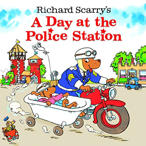 Richard Scarry's A Day at the Police Station ()