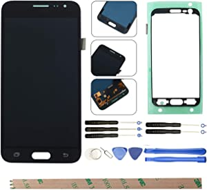 HYYT For Samsung Galaxy J3 2016 J320A LCD Digitizer Screen Replacement LCD Display and Touch Screen Assembly (black)