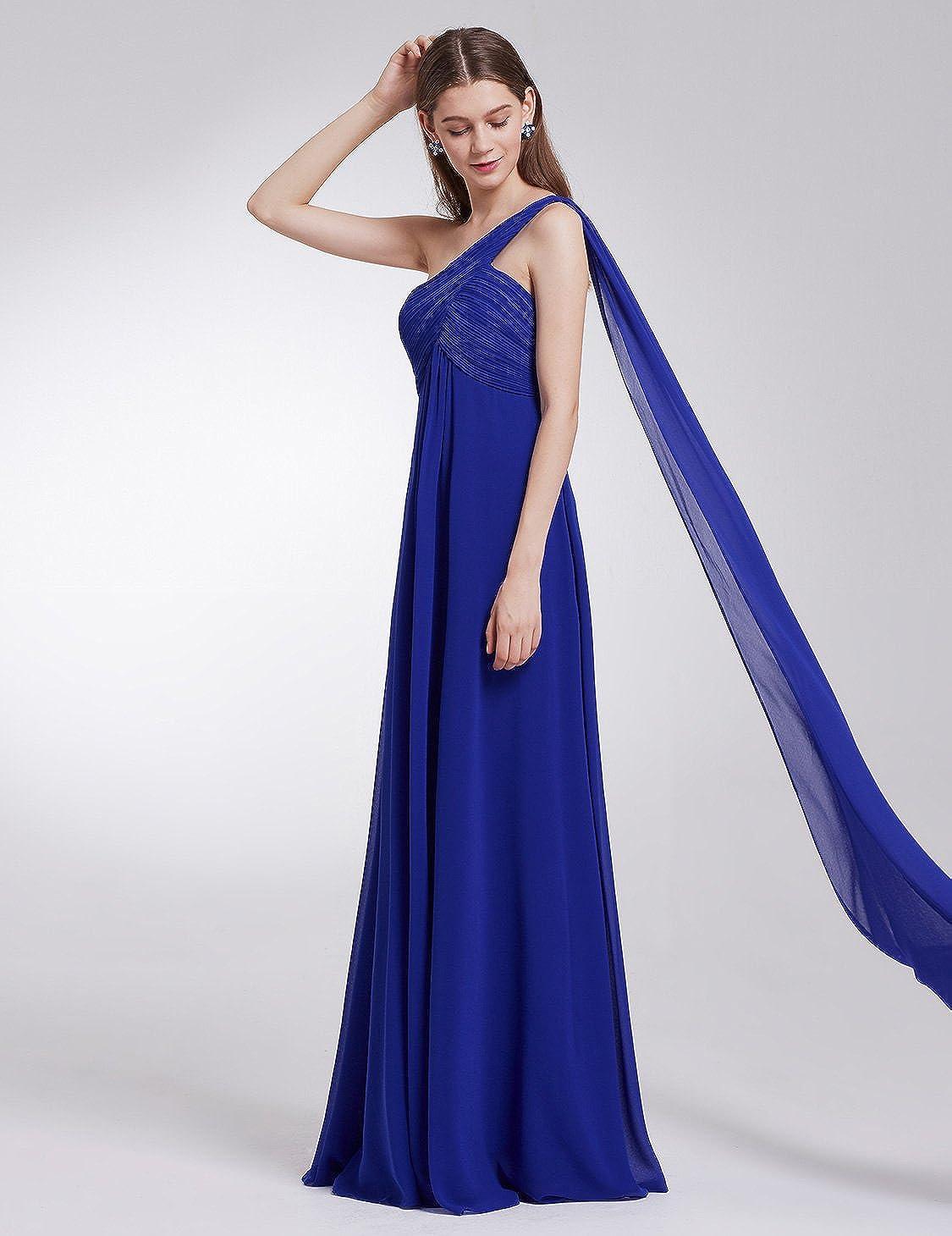 Ever-Pretty Robe de Soir/ée Longue Seule-/épaule Femme 09816
