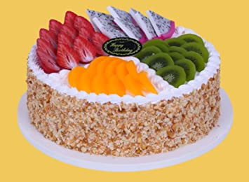 NICE PURCHASE Fake Birthday Cake Food Props Bakery Shop Display Model Party Decoration 6
