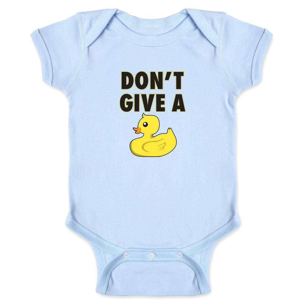 Pop Threads Don't Give A Duck Funny Infant Bodysuit 1387-201