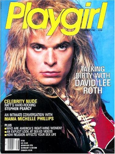 Playgirl Magazine: August 1986 -- Ratt's Stephen Pearcy Nude, David Lee Roth!