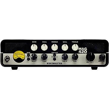 Ashdown RM-420 cabeza de amplificador para bajo (350 W: Amazon.es: Instrumentos musicales