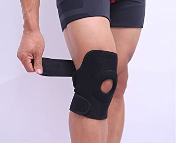 c63ce0a69a Essential Wellness Knee Support Medium, Adjustable Fit - reduces Knee Pain  & Discomfort