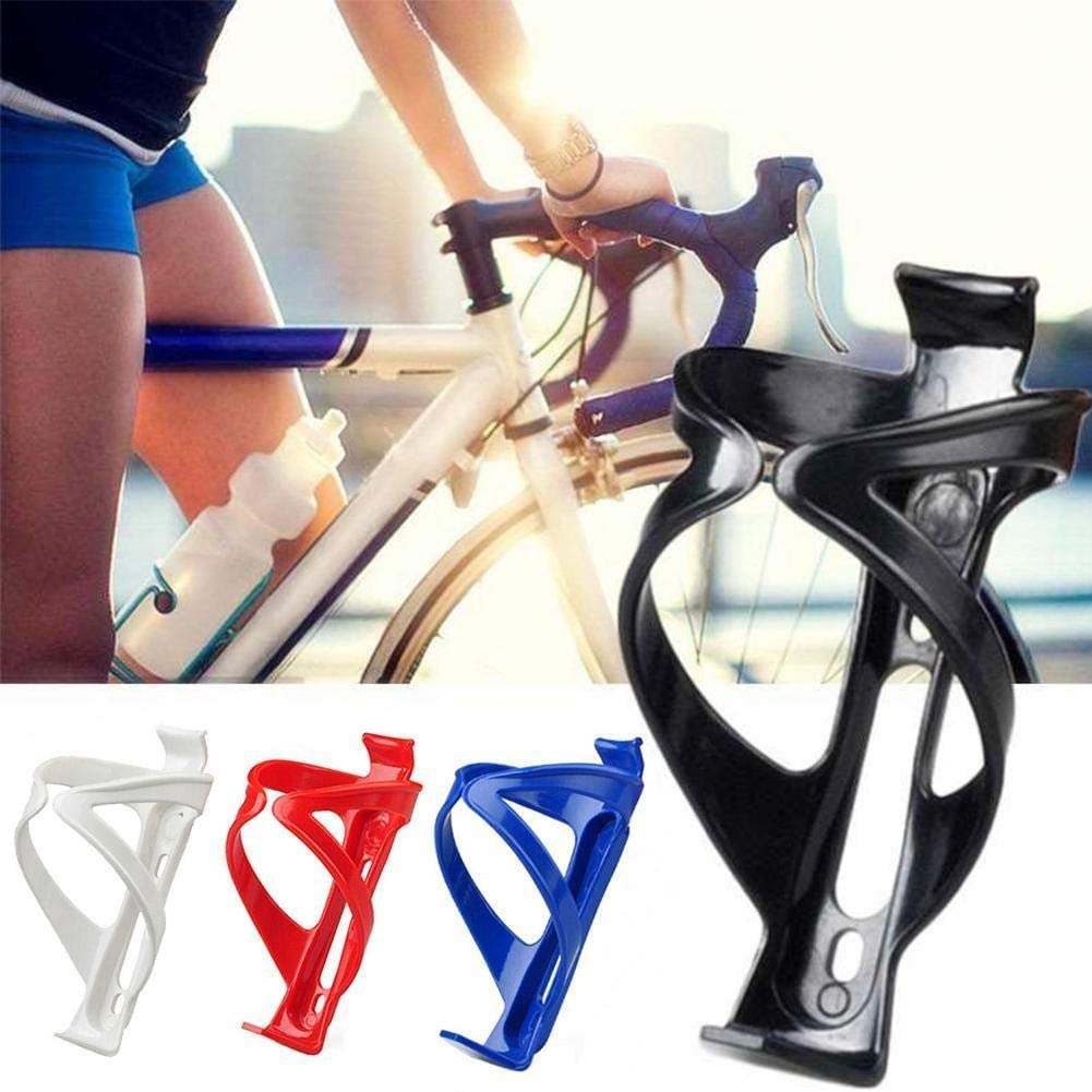 ADHG Portaborraccia durevoli Neri Portaborraccia in plastica per Bicicletta Leggero e Resistente Veloce e Facile da installare per Ciclismo MTB Bici da Strada