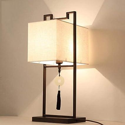 Lampara de mesa Modern minimalista estilo chino Villa de ...