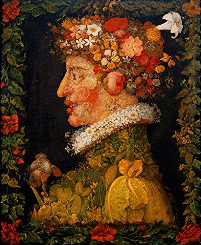 - kunst für alle Art Print/Poster: Giuseppe Arcimboldo Spring from a Series Depicting The Four Seasons 1573