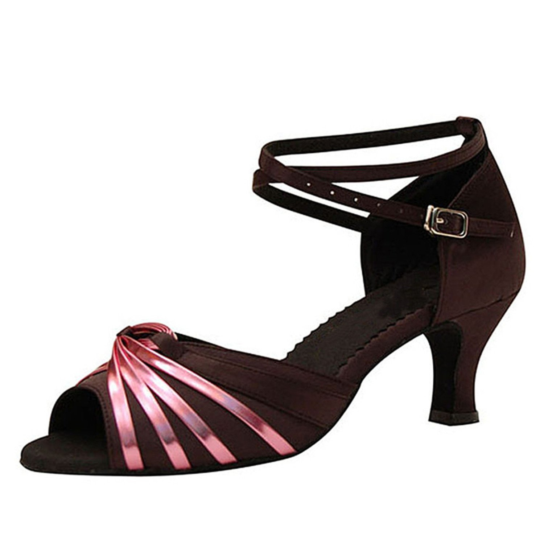 - LEIT YFF Cadeaux Femmes Dance Danse Danse Latine Dance Tango Chaussures 7CM,noir,36