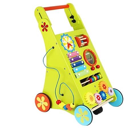 Cochecito de bebé andador bebé niño aprendizaje caminar ...