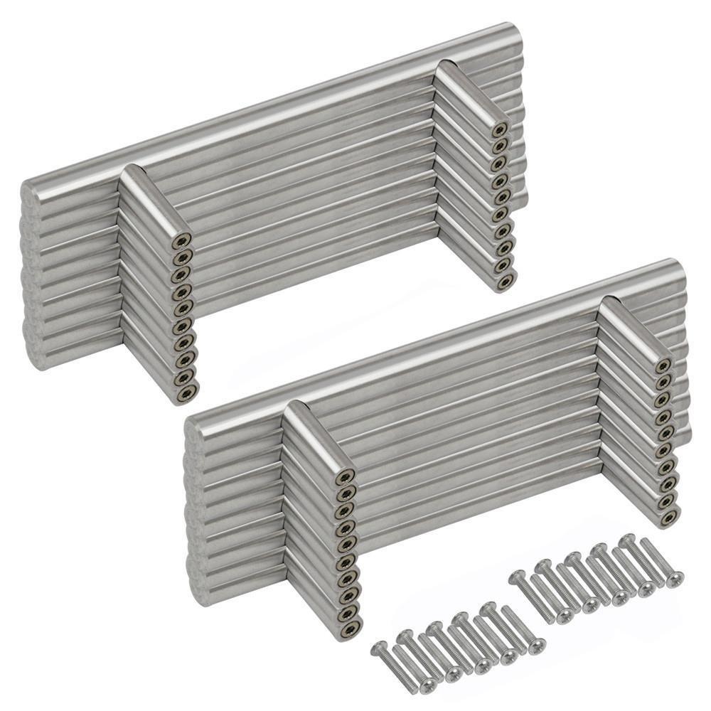 Yahee 20pcs T Manillas Tiradores para muebles Acero Inoxidable Cepillado product image