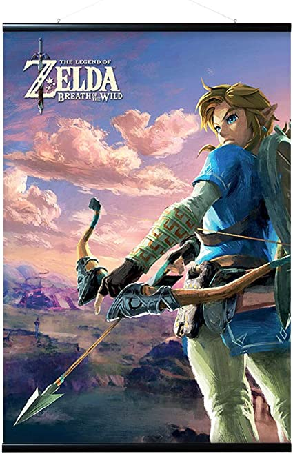 Erik Zelda Breath of The Wild Hyrule Scene Poster: Amazon.es ...