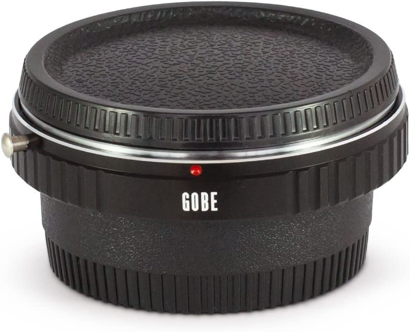 with Optical Glass Gobe Lens Mount Adapter Compatible with M42 Screw Lens and Nikon F Camera Body