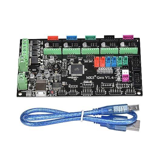 Placa base de la impresora 3D, tarjeta de control del controlador ...