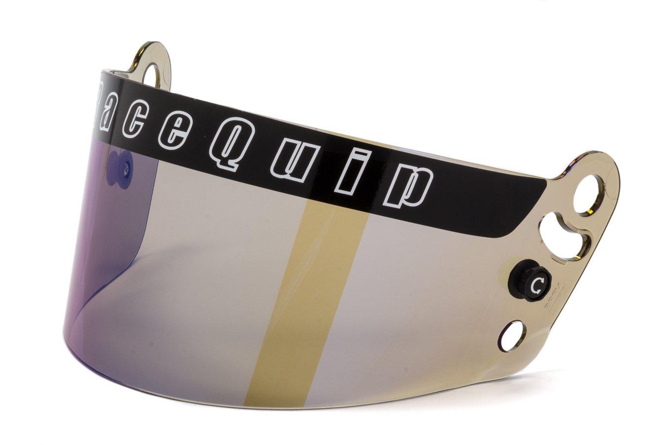 RaceQuip 204007 Blue Iridium Helmet Face Shield