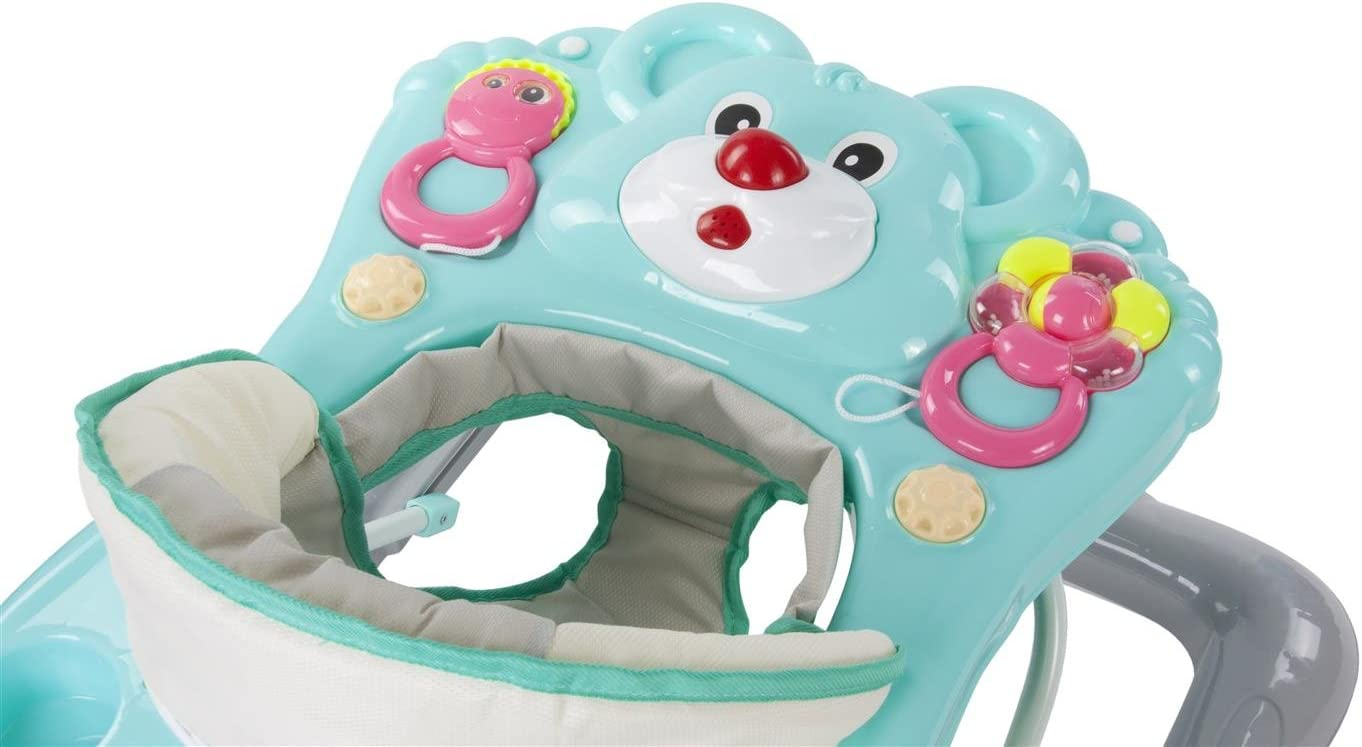 Sun Baby B01.010.1.9 Trotteur Ours Turquoise Multicolore