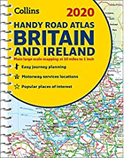2020 Collins Handy Road Atlas Britain and Ireland
