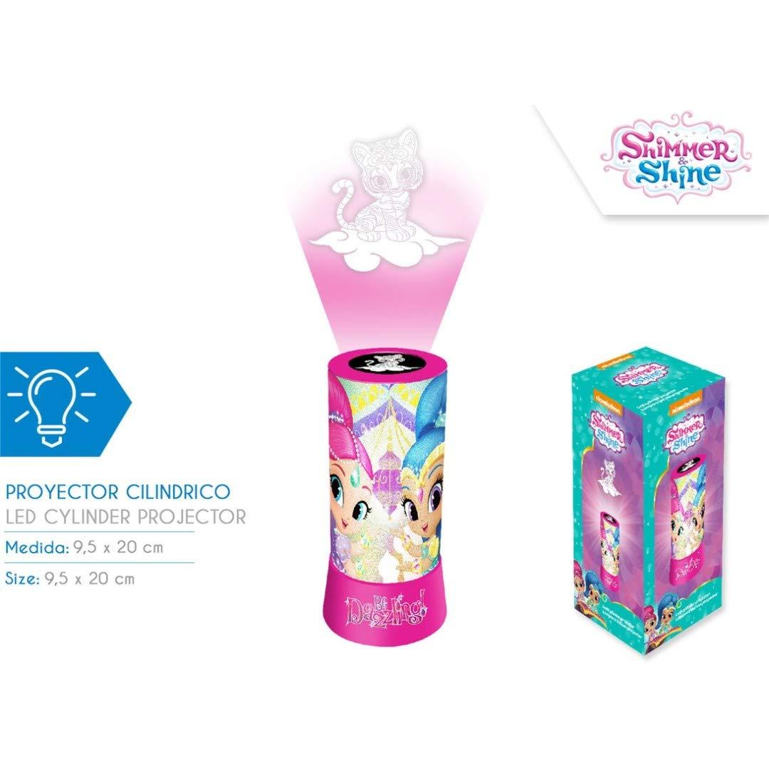 Shimmer and Shine- Proyector Led, Multicolor (Kids Euroswan KD ...